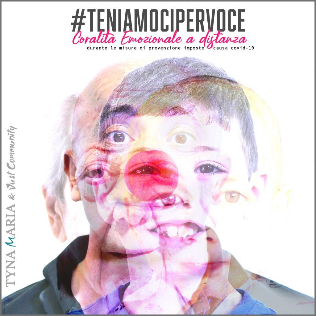copertina singolo teniamocipervoce a cura di Tyna Maria